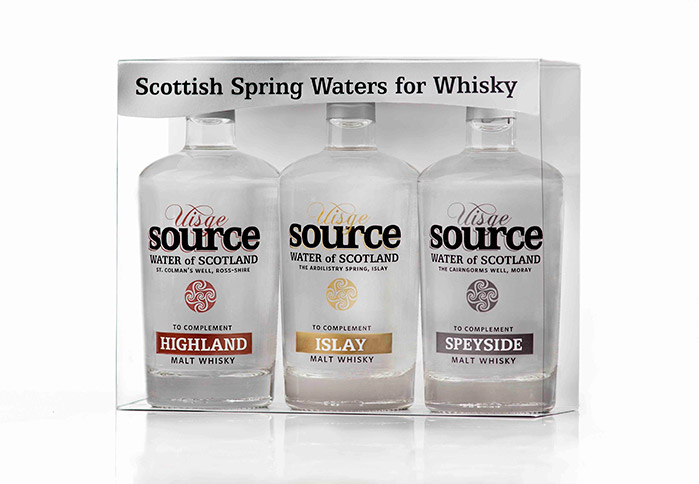 whisky water gift pack